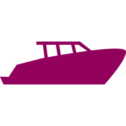 boat icon red