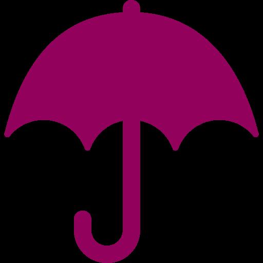 umbrella icon red