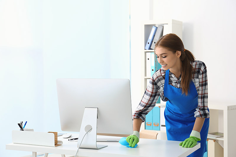 Spring Cleaning Workplace Germs