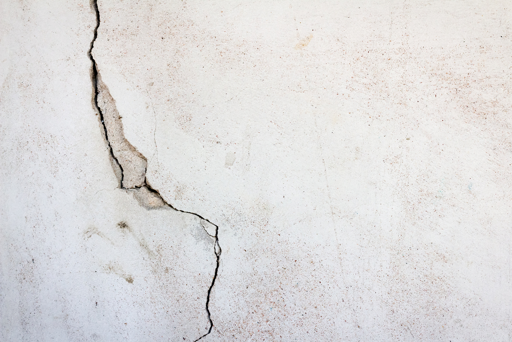 Crack in home's interior wall