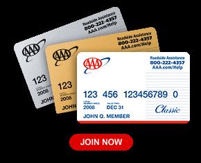 AAA membership cards